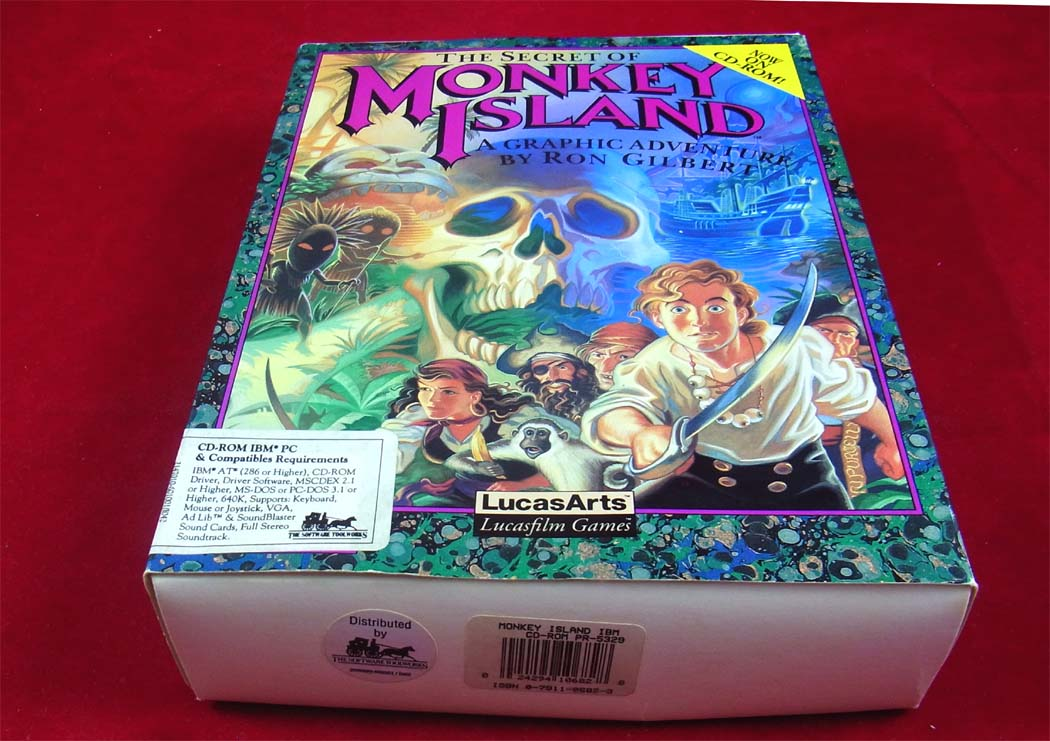 Monkey Island  Enhanced Cd Version