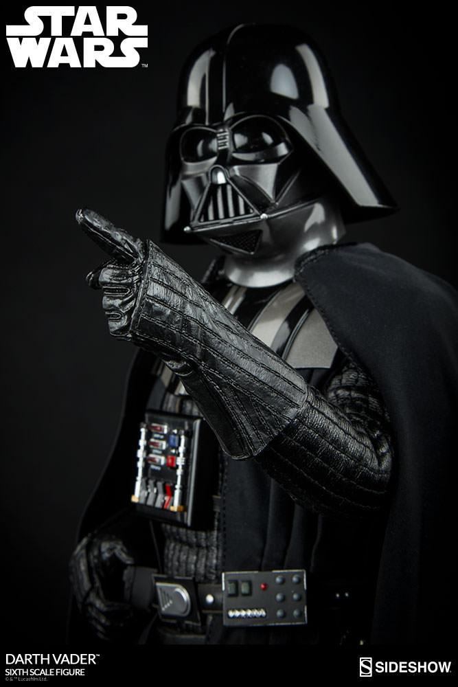 Details Zu Darth Vader Sixth Scale Figure Rotj Sideshow Star Wars Figur 16