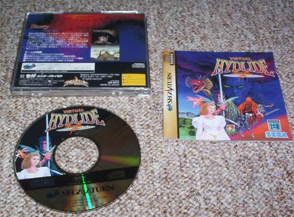 Sega saturn virtual hydlide japanisch ntsc ebay - Sega saturn virtual console ...